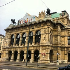 Photo taken at Wiener Staatsoper by Caner G. on 1/3/2013
