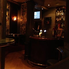 Photo taken at Bar Dessiné (Radisson BLU) by Francesco R. on 10/15/2012