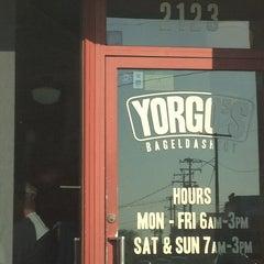 Photo taken at Yorgo's Bageldashery by Deb M. on 5/16/2013
