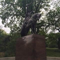 Photo taken at King Jagiello / Poland Monument by David C. on 9/29/2015