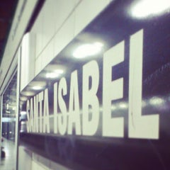 Photo taken at Metro Santa Isabel by Carlos A. on 6/4/2013