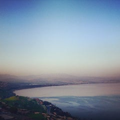 Photo taken at Sea of Galilee - Kinneret (כנרת) by Sefi S. on 1/5/2013