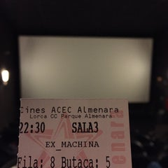 Photo taken at Cines Acec Almenara by Jose R. on 3/7/2015