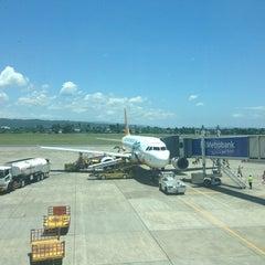 Photo taken at Francisco Bangoy International Airport (DVO) by Pearl F. on 3/19/2013