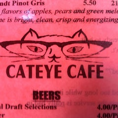 Photo taken at Cateye Cafe by Beau G. on 6/9/2013