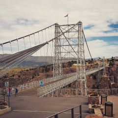 Photo taken at Royal Gorge Bridge & Park by Tommy G. on 9/23/2015