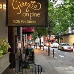 Photo taken at Giorgio on Pine by Stephen W. on 10/7/2012