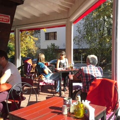 Photo taken at Brick Cafe by Ludmil D. on 10/11/2014