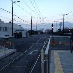 Photo taken at Cevizlibağ - A.Ö.Y. Tramvay Durağı by Engin on 1/16/2013