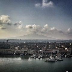 Photo taken at Porto di Catania by Ralph L. on 6/13/2015