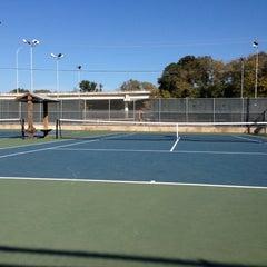 Photo taken at Austin High Tennis Center by Raja M. on 11/18/2012