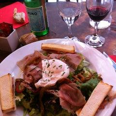 Photo taken at Café du Commerce by Hélène M. on 3/10/2013