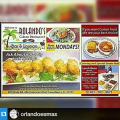 Photo taken at Rolando's Cuban Restaurant by Orlando e. on 5/13/2015