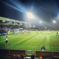 Photo taken at Sincil Bank Stadium-Lincoln City Football Club by Joel M. on 12/4/2012