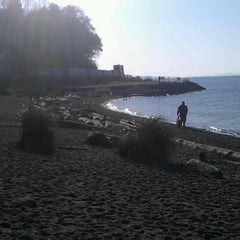 Photo taken at Edmonds Off-Leash Dog Park by nat s. on 11/10/2012