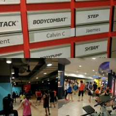 Photo taken at Fitness First by Hou F. on 7/30/2015