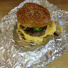 Photo taken at Five Guys by Tim T. on 9/12/2013