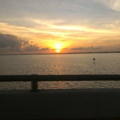 Photo taken at Caloosahatchee Bridge by Jenneffer P. on 1/2/2013