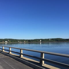 Photo taken at Wiscasset, ME by Daniel P. on 8/14/2015