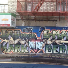 Photo taken at Big Pun Memorial Mural by Michel D. on 4/24/2013