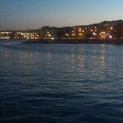Photo taken at Tekirdağ Sahil by Ebru on 5/26/2013