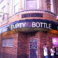 Photo taken at Empty Bottle by Jordan S. on 9/15/2012
