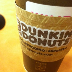 Photo taken at Dunkin' Donuts by Helen on 10/23/2012