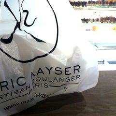 Photo taken at Eric Kayser by Hayat Z. on 11/18/2012