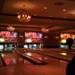 Photo taken at High Rollers Luxury Lanes & Lounge by allie v. on 11/17/2012