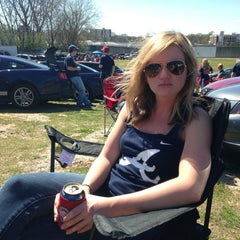 Photo taken at Turner Field - Blue Lot by Tony C. on 4/1/2013