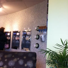 Photo taken at Bamboo Frozen Yogurt Café by Jason B. on 12/15/2012