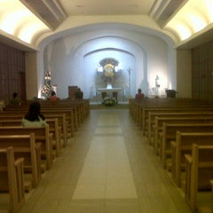 Photo taken at Chapel of the Eucharistic Lord by 'ItsmeMarkG . on 4/15/2013