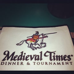 Photo taken at Medieval Times Dinner & Tournament by Kadu F. on 4/21/2012