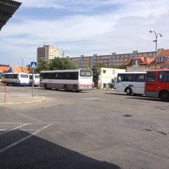 Photo taken at Autobusová stanica Nitra by The_Rybka &. on 8/23/2012