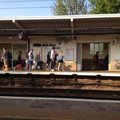 Photo taken at Gospel Oak London Overground Station by Steve T. on 5/6/2013