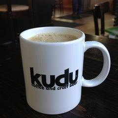 Photo taken at Kudu Coffee & Craft Beer by Luca Z. on 3/28/2013