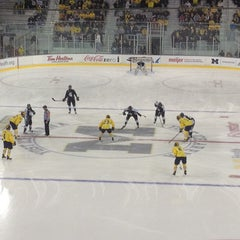 Photo taken at Yost Ice Arena by Chris M. on 11/21/2012