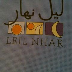 Photo taken at Leil Nhar by Marino C. on 11/8/2012