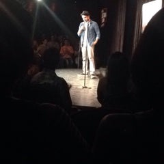 Photo taken at Canvas Laugh Factory by Mahima K. on 4/16/2015