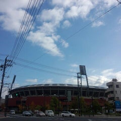 Photo taken at MAZDA Zoom-Zoom スタジアム広島 by F14A10rqlY y. on 11/2/2012