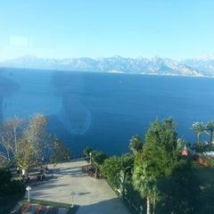 Photo taken at Antalya Hotel by Enes K. on 11/13/2012