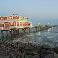Photo taken at Jimmy's On The Pier by Vanessa M. on 3/12/2013