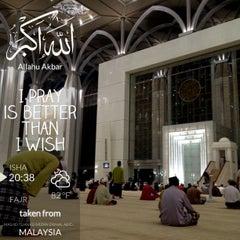 Photo taken at Masjid Tuanku Mizan Zainal Abidin (Masjid Besi) by Mokhtar A. on 7/22/2013