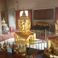Photo taken at วัดพระทอง (หลวงพ่อพระผุด) (Wat Phra Thong) by Darren M. on 1/4/2013