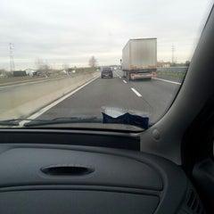 Photo taken at Autostrada A13 by Mattia G. on 12/7/2012