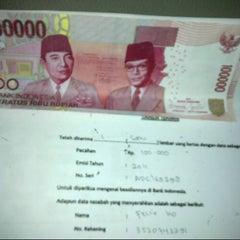 Photo taken at Gedung C - Bank Indonesia by Aryani L. on 4/4/2013