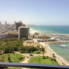 Photo taken at Hilton Tel Aviv by Wayne S. on 5/28/2013