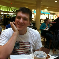 Photo taken at Westfield Montgomery Mall Food Court by Bay L. on 10/30/2012