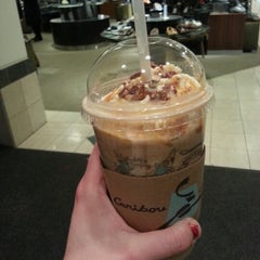 Photo taken at Caribou Coffee by Leah I. on 1/2/2013