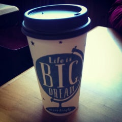 Photo taken at Caribou Coffee by Wil C. on 1/26/2014
